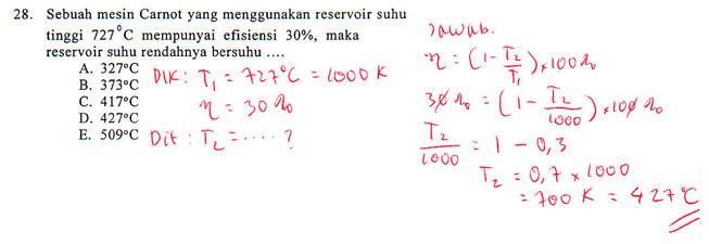 Penyelesaian Soal Latihan Fisika Kelas 11 Infoku