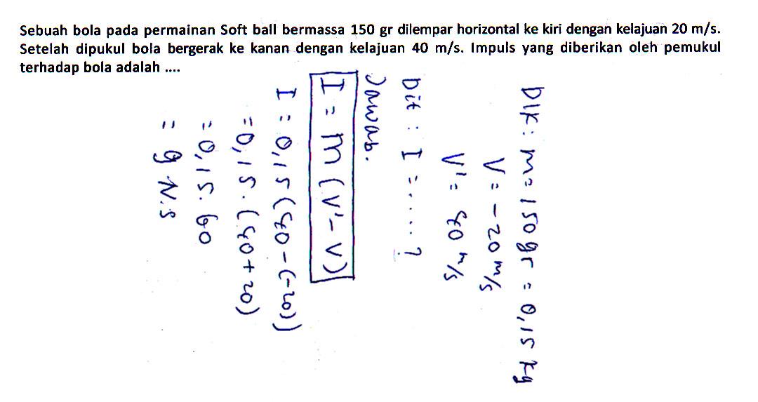 76 Soal Soal Latihan Fisika Beserta Jawabannya Kumpulan Soal Kumpulan Latihan Soal Ipa
